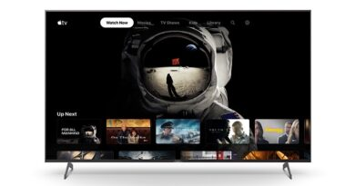 Sony launches Apple TV app on select smart tv