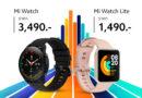 Xiaomi launched 2 new smartwatches Mi Watch Mi Watch lite to Thai market