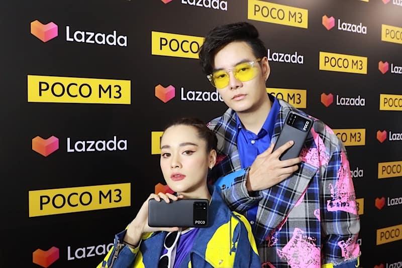 Xiaomi x Lazada launch POCO M3 in Thailand