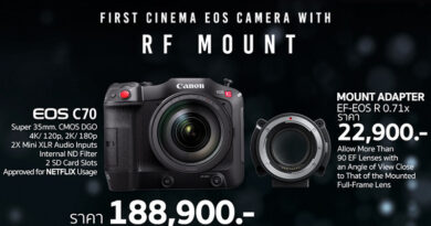 Canon announce price for EOS C70 approved for Netflix usage camera