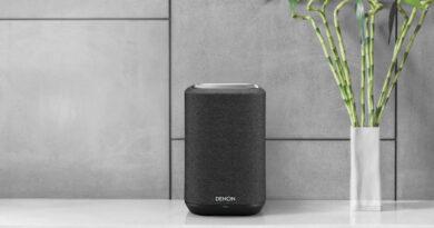 Denon Home Series wireless speaker shelf break in Thailand