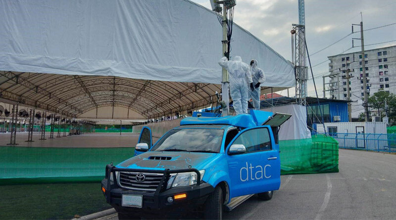 DTAC boosts network around critical control zoning fight COVID 19
