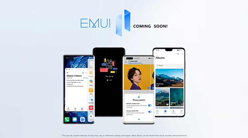 HUAWEI announce EMUI 11 available models and timeline