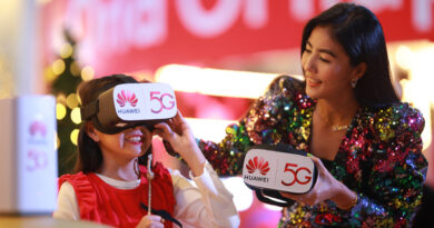 HUAWEI x Central World creates 5G VR memorable countdown