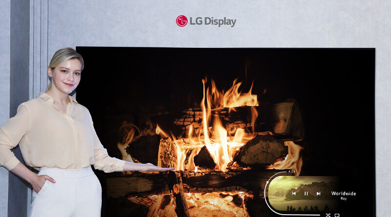 LG Display announces smallest 42 inches OLED panel ever