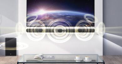 LG launch SN9YG SN8YG SN7Y new soundbar featured Dolby Atmos DTS:X