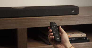 Polk Audio React budget soundbar with HDMI ARC Alexa