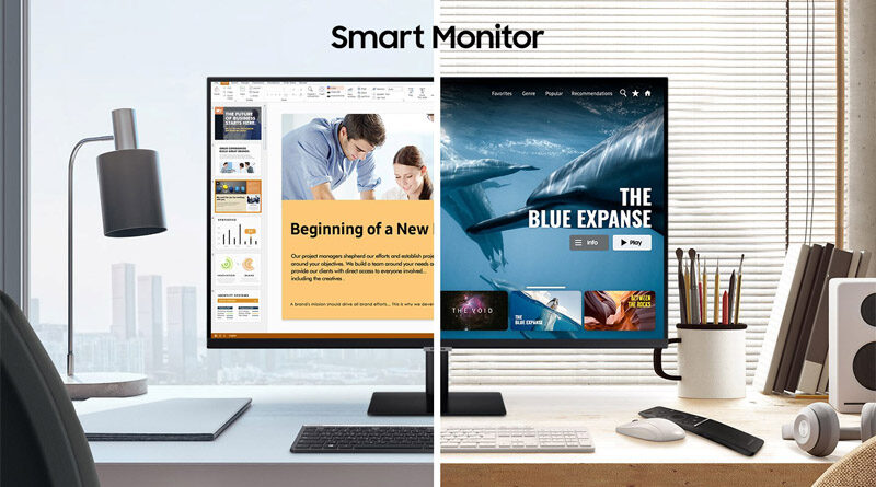 Samsung snnounces global availability of new lifestyle smart monitor