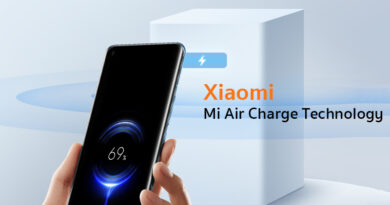 Xiaomi unveil Air Charge technology remote phone charger system