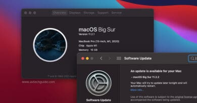 Apple releases macOS Big Sur 11.2.2 prevent MacBooks from damaged by 3rd party non compliant docks