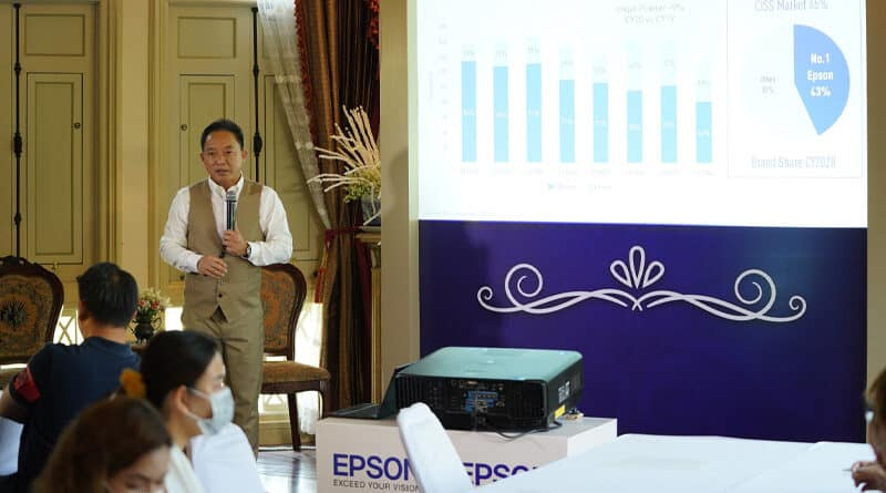 Epson plan to grow 10 percent and launch Epson Easycare 360