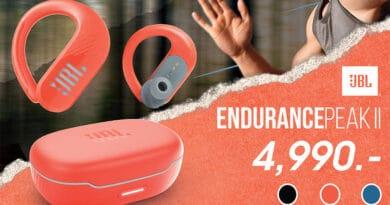 JBL introduce Endurance Peak II
