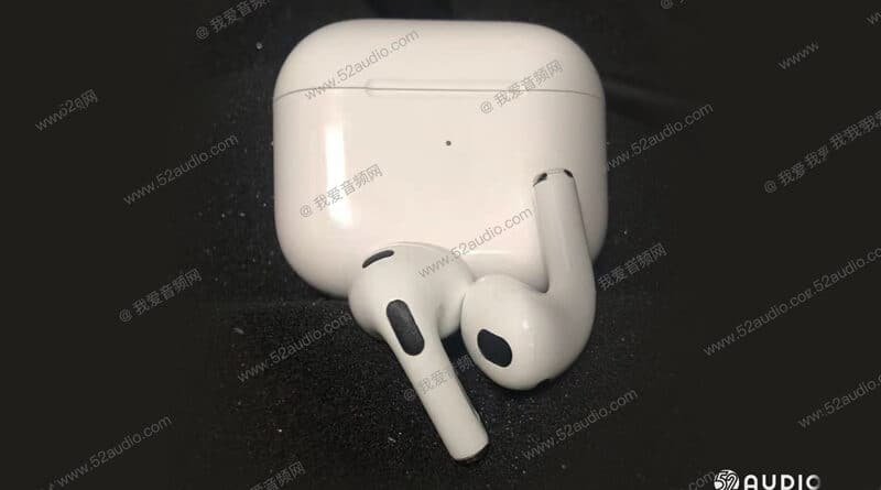 Leaked AirPods Gen 3 and case charge shown on internet