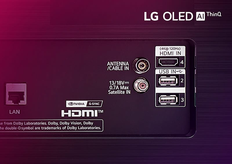 LG guide 6 must have features for gaming tv