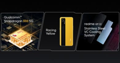realme GT pre-showed at MWC Shanghai