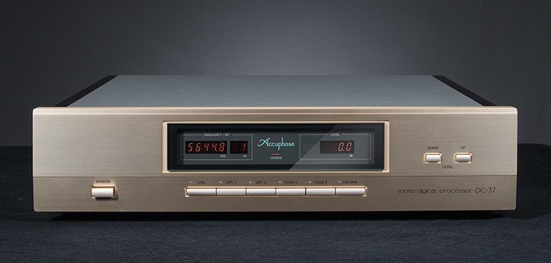 Review Accuphase DC-37 hi-res audio digital processor dac
