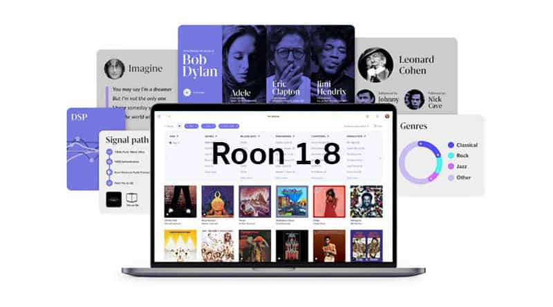 Roon 1.8 available on February 9