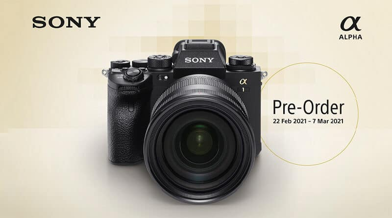 Sony introduce Alpha 1 camera pre-order