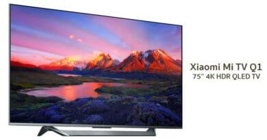 Xiaomi Mi TV Q1 75 inches premium 4K QLED TV launch