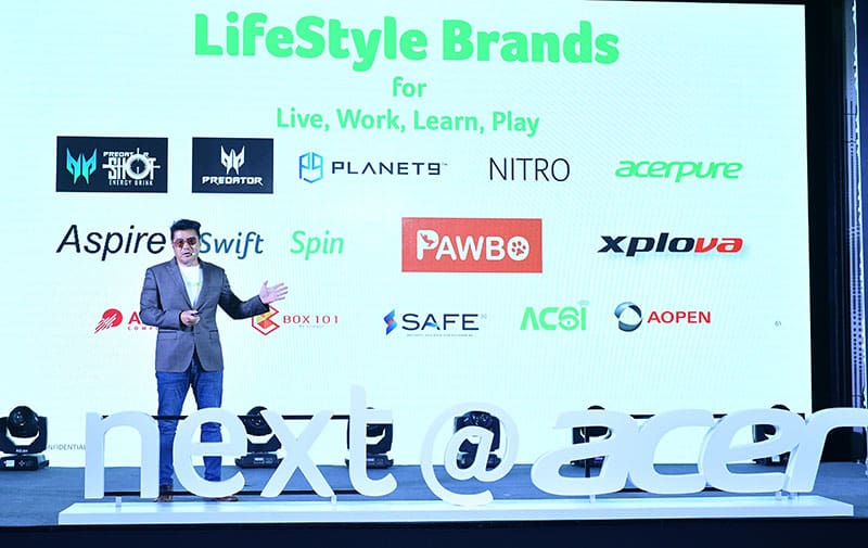 Acer steps up dual transformation strategy to become lifestyle brands