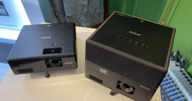 Epson EpiqVision World's first compact laser projector introduced