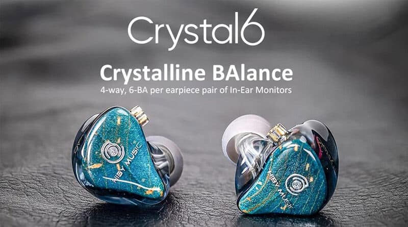 Hiby Crystal 6 new flagship multi-BA IEM introduced