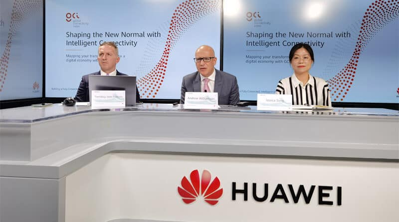 HUAWEI proposes 5 key stages of industry digital transformation