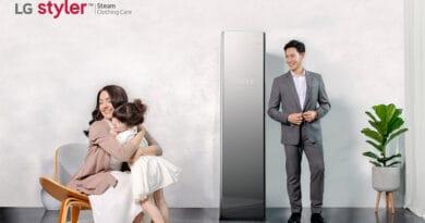 LG Styler discover steam closet system