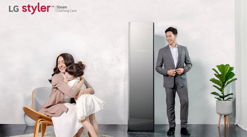 LG Styler discover steam closet system