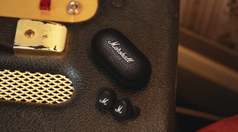 Marshall Mode II brand first true wireless earbuds introduced