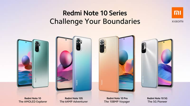 Redmi Note10 series global launch