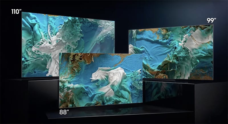 Samsung introduce user-friendly 76 inches MicroLED TV