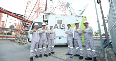 AIS enhances mobile network and full power internet field hospital area supports Songkran Festival new normal celebrate