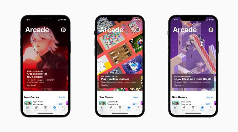 Apple Arcade launches more than 130 award winning games