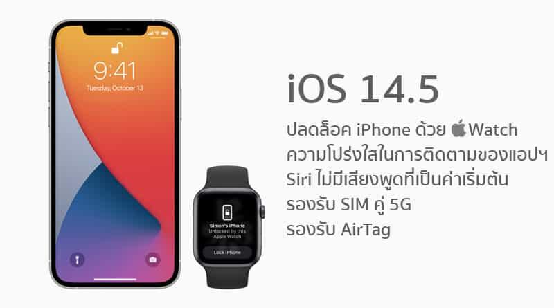 Apple release iOS 14.5 update