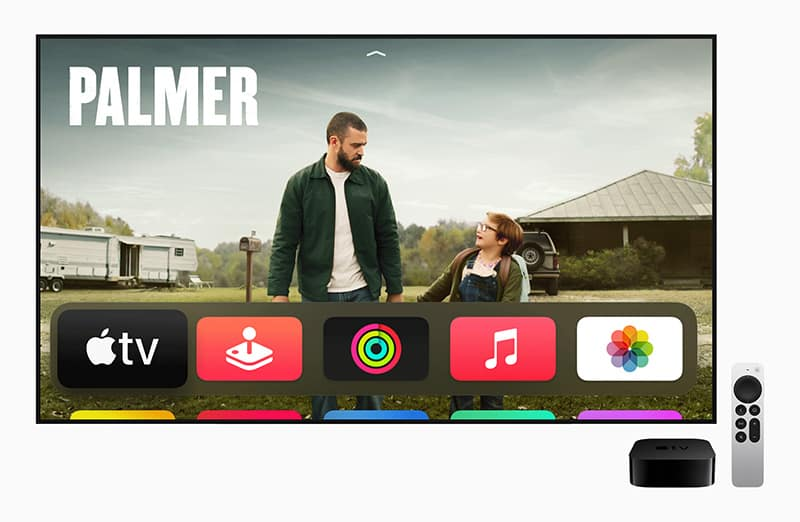 Apple unveils new Apple TV 4K support HDR high frame rate color calibrate with iphone