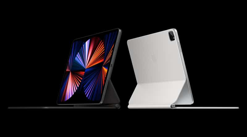 Apple unveils new iPad Pro feature M1 chip mini-LED display and Thunderbolt port and 5G cellular connection
