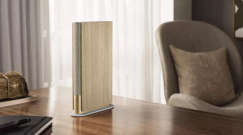Bang & Olufsen new Beosound Emerge is wireless speaker with book-like design