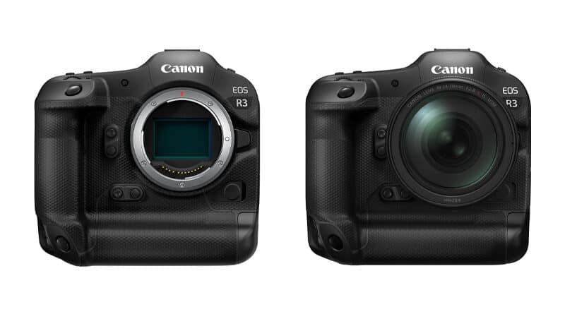 Canon tease develop EOS R3 full-frame mirrorless