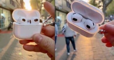 Counterfeit Apple AirPods Gen 3 hit the market before official release