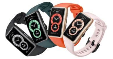 HUAWEI tease Band 6 new smart fitness tracker