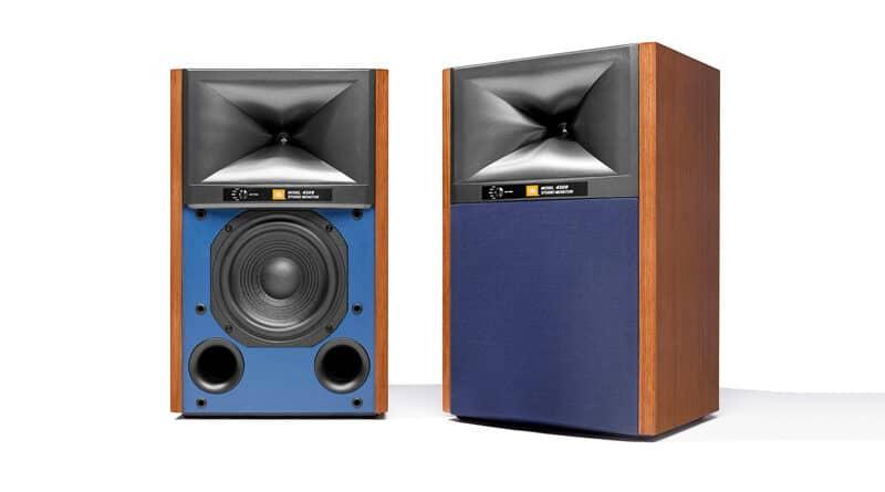 JBL launches retro looking 4309 Studio Monitor standmount loudspeakers
