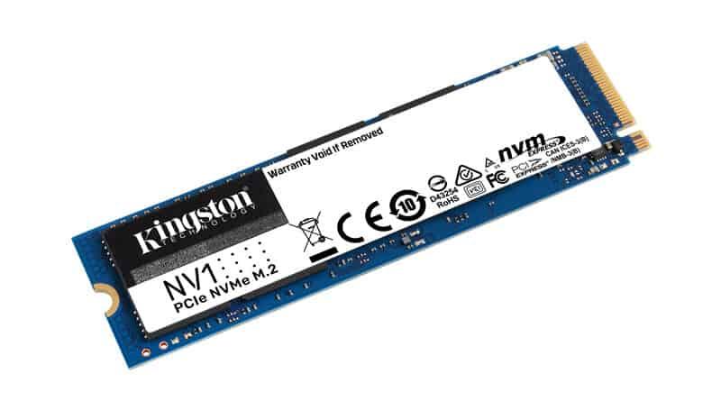 Kingston introduce new NV1 NVMe SSD
