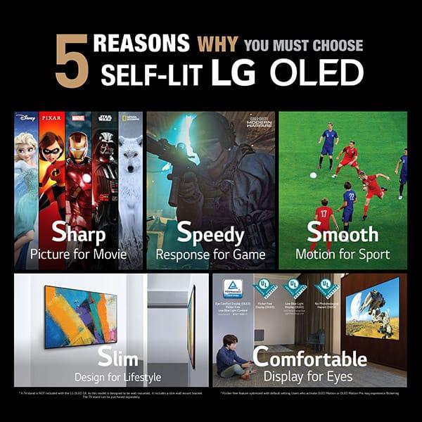 LG OLED TV B1 pre-order campaign