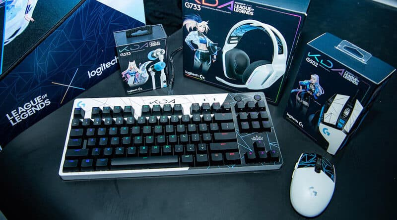 Logitech G x Riot Games launch K/DA gaming gear for League of Legends