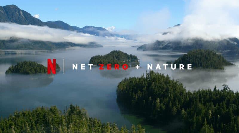 NetZero Netflix sustainability feature