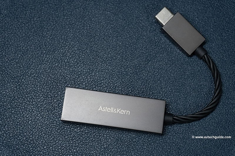 Review Astell&Kern PEE51 hi-res audio portable USB DAC