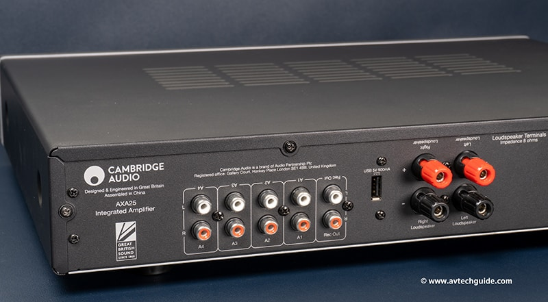 Review Cambridge Audio AXA25 AXC25 CD Player Integrated amplifier