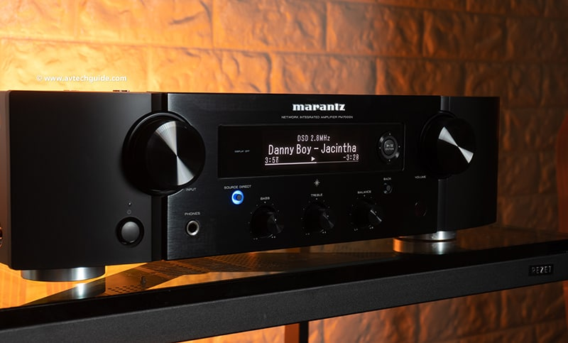 Review Marantz PM7000N rich feature high performance network amplifier