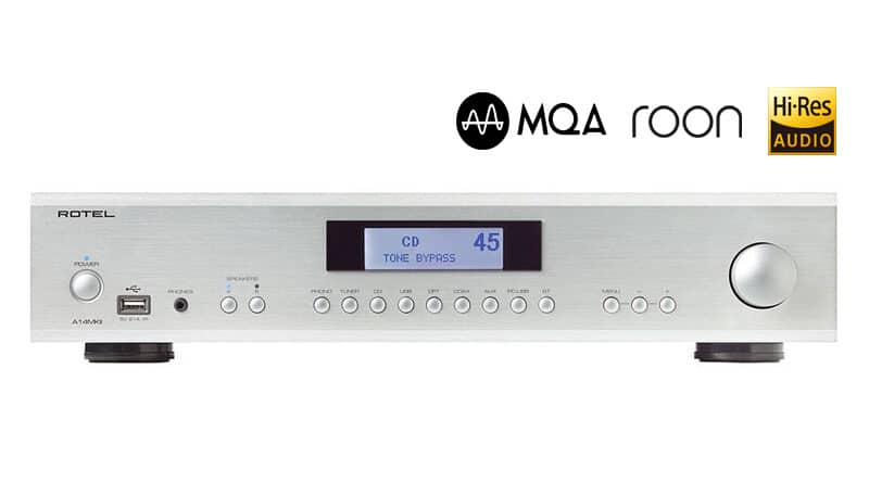 Rotel 14 and 15 Series MkII integrated amplifier benefit from company's high-end Michi brand
